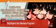 Büyükşehir'den Mevlana Programı