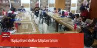 Büyükşehir'den Miniklere Kütüphane Tanıtımı