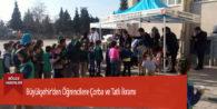 Büyükşehir'den Öğrencilere Çorba ve Tatlı İkramı