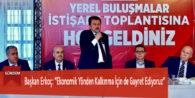 """Başkan Erkoç: """"Ekonomik Yönden Kalkınma İçin de Gayret Ediyoruz"""""""