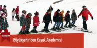 Büyükşehir'den Kayak Akademisi