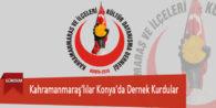 Kahramanmaraş'lılar Konya'da Dernek Kurdular