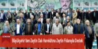 Büyükşehir'den Zeytin Dalı Harekâtına Zeytin Fidanıyla Destek