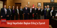 Vergi Heyetinden Başkan Erkoç'a Ziyaret