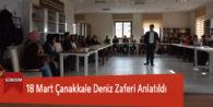 18 Mart Çanakkale Deniz Zaferi Anlatıldı