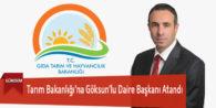 Tarım Bakanlığı'na Göksun'lu Daire Başkanı Atandı