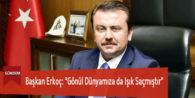 """Başkan Erkoç: """"Gönül Dünyamıza da Işık Saçmıştır"""""""
