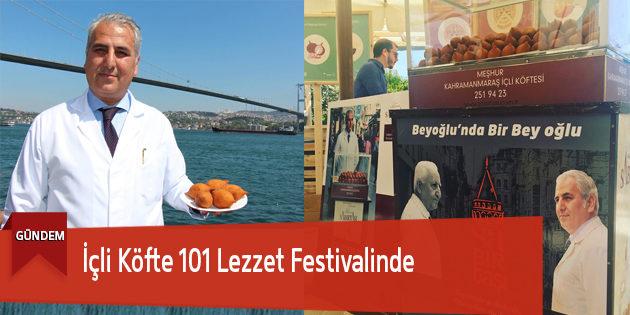 İçli Köfte 101 Lezzet Festivalinde