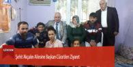 Şehit Akçalın Ailesine Başkan Cüce'den Ziyaret