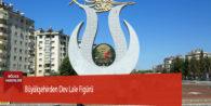 Büyükşehirden Dev Lale Figürü