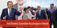 Mahir Ünal Teşekkür Ziyaretinde Kılıçdaroğluna Yüklendi