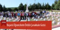Başarılı Öğrencilerin Ödülü Çanakkale Gezisi