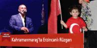 Kahramanmaraş'ta Dursun Ali Erzincanlı Rüzgarı