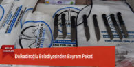 Dulkadiroğlu Belediyesinden Bayram Paketi