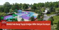 Ekinözü'nde Recep Tayyip Erdoğan Millet Bahçesi Kuruluyor