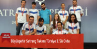Büyükşehir Satranç Takımı Türkiye 3.'Sü Oldu