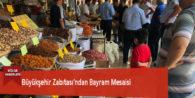 Büyükşehir Zabıtası'ndan Bayram Mesaisi