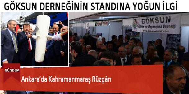 Ankara'da Kahramanmaraş Rüzgârı