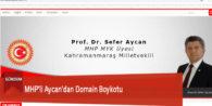 MHP'li Aycan'dan Domain Boykotu