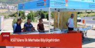 KSÜ'lülere İlk Merhaba Büyükşehirden