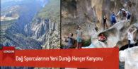 Dağ Sporcularının Yeni Durağı Hançer Kanyonu