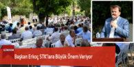 Başkan Erkoç STK'lara Büyük Önem Veriyor