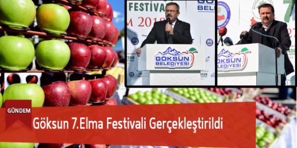 Göksun 7.Elma Festivali Gerçekleştirildi