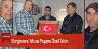 Korgeneral Musa Paşaya Özel Tablo