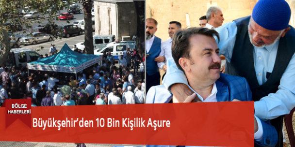 Büyükşehir'den 10 Bin Kişilik Aşure