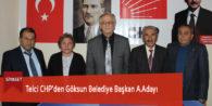 Telci CHP'den Göksun Belediye Başkan A.Adayı