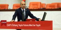 CHP'li Öztunç Yayla Yolunu Meclise Taşıdı