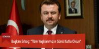 """Başkan Erkoç: """"Tüm Yaşlılarımızın Günü Kutlu Olsun"""""""