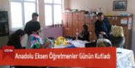 Anadolu Eksen Öğretmenler Günün Kutladı