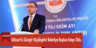 Göksun'lu Güngör Büyükşehir Belediye Başkan Adayı Oldu