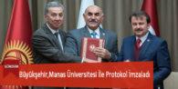 Büyükşehir,Manas Üniversitesi İle Protokol İmzaladı