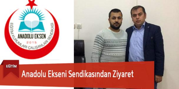 Anadolu Ekseni Sendikasından Ziyaret
