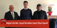 Başkan Cüce'den  Sosyal Hizmetlere Hayırlı Olsun Ziyareti