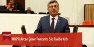 MHP'li Aycan Şeker Pancarını Sıkı Takibe Aldı