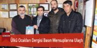 Ülkü Ocakları Dergisi Basın Mensuplarına Ulaştı