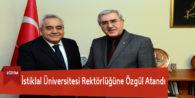İstiklal Üniversitesi Rektörlüğüne Özgül Atandı