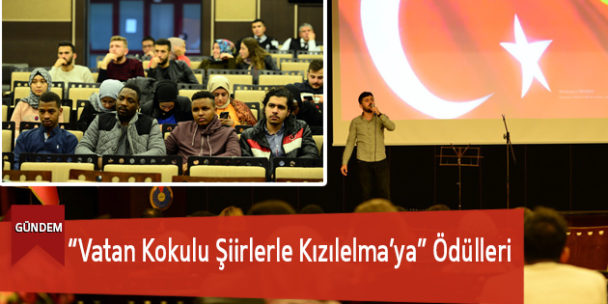 """""""Vatan Kokulu Şiirlerle Kızılelma'ya"""" Ödülleri"""