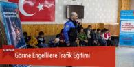 Görme Engellilere Trafik Eğitimi