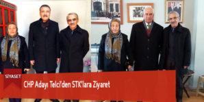 CHP Adayı Telci'den STK'lara Ziyaret