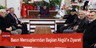 Basın Mensuplarından Başkan Akgül'e Ziyaret