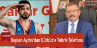 Başkan Aydın'dan Gürbüz'e Tebrik Telefonu