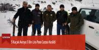 5 Kaçak Avcıya 5 Bin Lira Para Cezası Kesildi