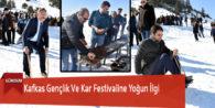 Kafkas Gençlik Ve Kar Festivaline Yoğun İlgi