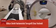 Göksun Devlet Hastanesinde Tomografi Cihazı Yenilendi