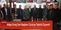 Aday Kıraç'tan Başkan Cüce'ye Tebrik Ziyareti
