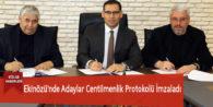 Ekinözü'nde Adaylar Centilmenlik Protokolü İmzaladı
